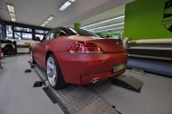 12113264 1047829041917811 7071130628099935402 o 190x126 Mattroter BMW Z4 3.5 Si by Print Tech Premium Wrapping