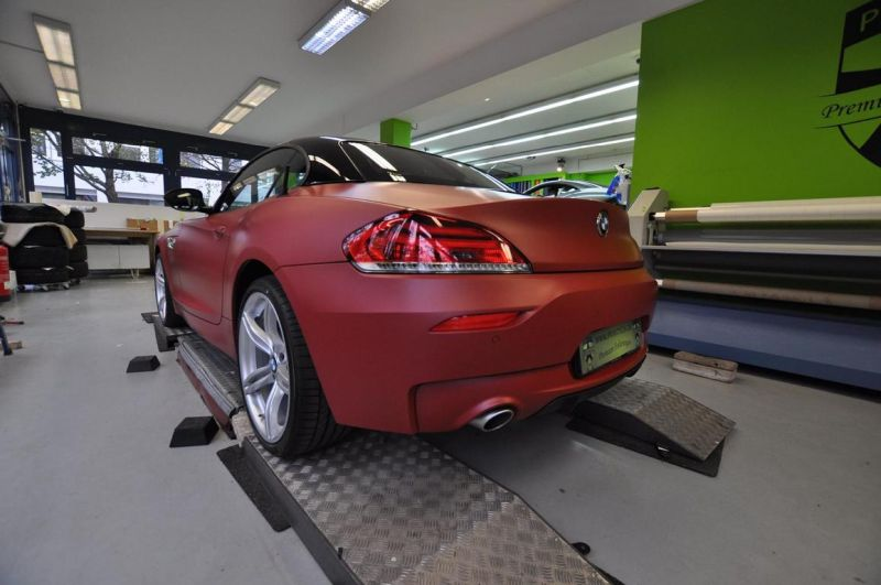 12113264 1047829041917811 7071130628099935402 o Mattroter BMW Z4 3.5 Si by Print Tech Premium Wrapping