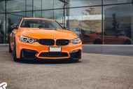 12120167 1189017251113720 2925327245651140058 o 190x127 Schwarz & Orange   Pfaff Tuning tunt den BMW M4 F82