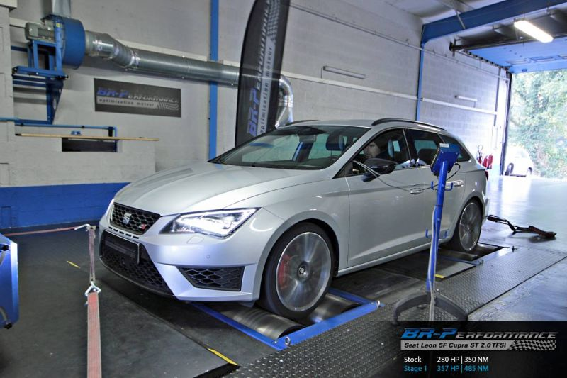 seat leon 5f cupra st 2 0 tfsi mit 415ps by br performance. Black Bedroom Furniture Sets. Home Design Ideas