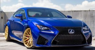 2015 Lexus RC F Vossen Forged VPS 308 Vossen Wheels 2 6 310x165 Lexus RC F with golden Vossen Wheels type VPS 308