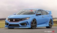 2017 honda civic type r looks crazy for 2017 2 190x111 Rendering: 2017er Honda Civic Type R by CivicX