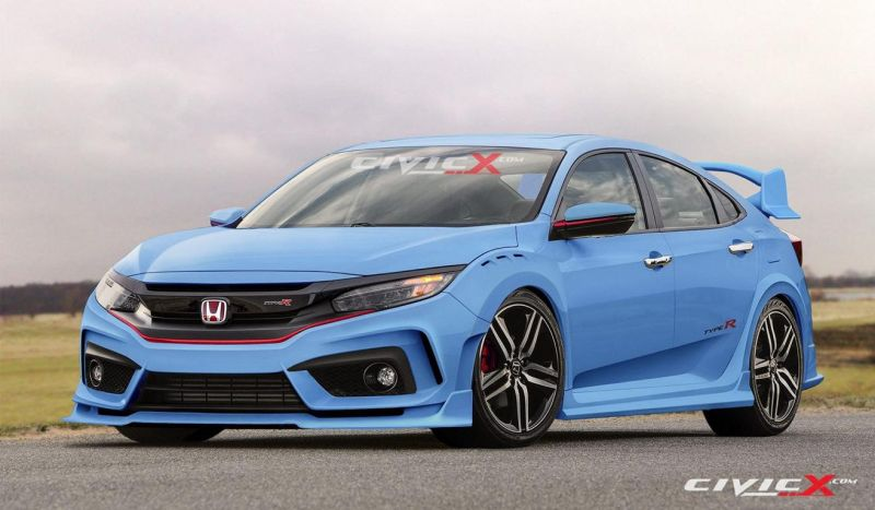 2017 honda civic type r looks crazy for 2017 2 Rendering: 2017er Honda Civic Type R by CivicX