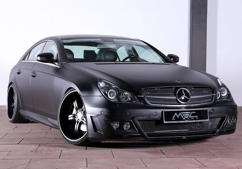 272596 10150250282939727 4946173 o Ultraböse   Mattschwarzer Mercedes Benz CLS by MEC Design