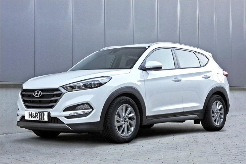sportliches suv hyundai tucson mit h r federn. Black Bedroom Furniture Sets. Home Design Ideas