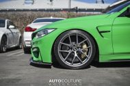 A Signal Green BMW M4 With BBS Wheels 1 190x126 AutoCouture Motoring zeigt giftgrünen BMW M4 F82