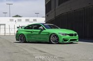 A Signal Green BMW M4 With BBS Wheels 2 190x126 AutoCouture Motoring zeigt giftgrünen BMW M4 F82