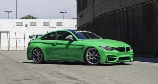 A Signal Green BMW M4 With BBS Wheels 2 310x165 AutoCouture Motoring zeigt giftgrünen BMW M4 F82