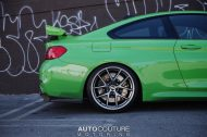A Signal Green BMW M4 With BBS Wheels 4 190x126 AutoCouture Motoring zeigt giftgrünen BMW M4 F82