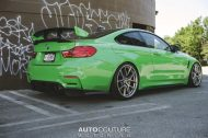 A Signal Green BMW M4 With BBS Wheels 8 190x126 AutoCouture Motoring zeigt giftgrünen BMW M4 F82