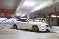 Alpine White BMW 6 Series Gran Coupe Rocking Vossen Wheels 1 190x127 Vossen Wheels VPS 307 am BMW 6er Gran Coupe
