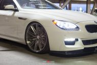 Alpine White BMW 6 Series Gran Coupe Rocking Vossen Wheels 3 190x127 Vossen Wheels VPS 307 am BMW 6er Gran Coupe