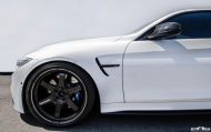 Alpine White BMW M4 Gets Modded At European Auto Source 6 190x119 European Auto Source   BMW M4 F82 mit Volk TE37 Alu's