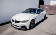 Alpine White BMW M4 Gets Modded At European Auto Source 8 190x119 European Auto Source   BMW M4 F82 mit Volk TE37 Alu's
