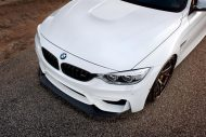 Alpine White BMW M4 with HRE S101 Wheels in Satin Bronze 4 190x127 HRE Performance Wheels S101 am BMW M4 F82
