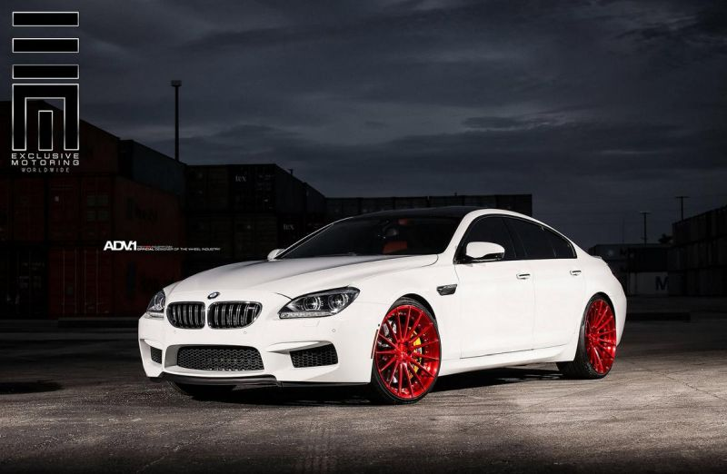 Alpine-White-BMW-M6-Gran-Coupe-Gets-Red-Wheels-1