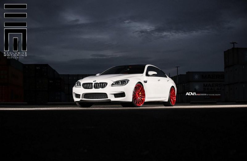 Alpine-White-BMW-M6-Gran-Coupe-Gets-Red-Wheels-2