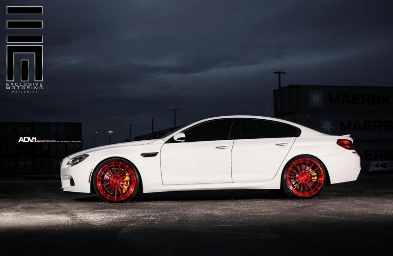 Alpine-White-BMW-M6-Gran-Coupe-Gets-Red-Wheels-5