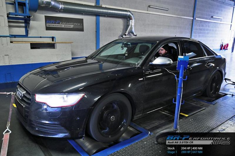 audi a6 3 0 tdi cr chiptuning br performance 1 magazin. Black Bedroom Furniture Sets. Home Design Ideas