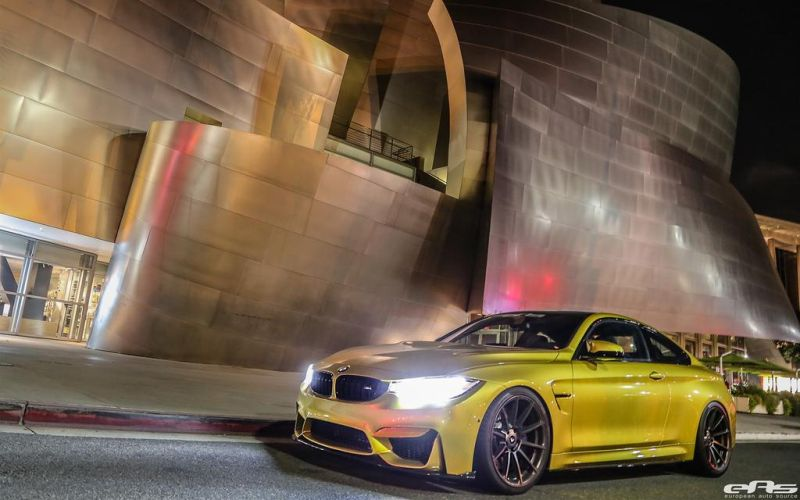 Austin Yellow BMW F82 M4 By EAS 1 BMW M4 F82 in Austin Yellow by Tuner EAS