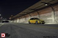 Austin Yellow BMW M3 With Klassen M10R Anthracite Grey Frost Wheels 8 190x127 BMW F80 M3 auf KlassenID M10R Wheels in Grau