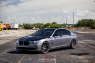 BMW 7 Series With Vossen Wheels 1 190x127 22 Zoll Vossen Wheels VPS 306 am BMW 7er F01