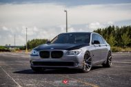 BMW 7 Series With Vossen Wheels 2 190x127 22 Zoll Vossen Wheels VPS 306 am BMW 7er F01