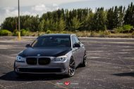 BMW 7 Series With Vossen Wheels 3 190x127 22 Zoll Vossen Wheels VPS 306 am BMW 7er F01