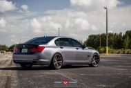 BMW 7 Series With Vossen Wheels 7 190x127 22 Zoll Vossen Wheels VPS 306 am BMW 7er F01