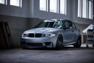 BMW E82 1M Carbonfiber Dynamics Tuning Folierung Mattgrau 4 190x127 Neues Projekt   BMW E82 1M by Carbonfiber Dynamics