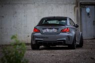 BMW E82 1M Carbonfiber Dynamics Tuning Folierung Mattgrau 6 190x127 Neues Projekt   BMW E82 1M by Carbonfiber Dynamics