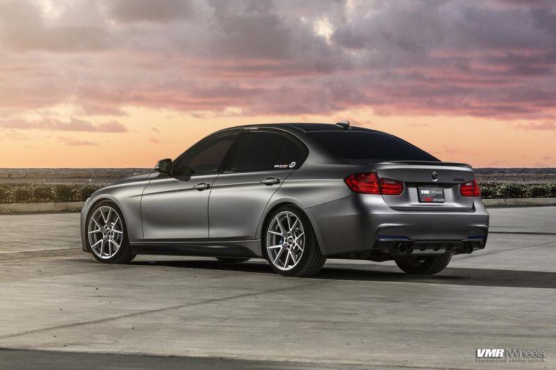 BMW-F30-335i-With-VMR-V804-Hyper-Silver-Wheels-5