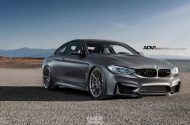 BMW F82 M4 With ADV10 Wheels 6 190x125 BMW F82 M4 auf 20 Zoll ADV.1 Wheels Typ ADV10 MV.2