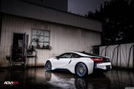 BMW i8 With Aftermarket Custom Forged Wheels Installed 3 190x127 20 Zoll ADV15R Track Spec Felgen in Blau am BMW i8
