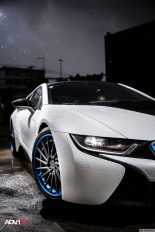 BMW i8 With Aftermarket Custom Forged Wheels Installed 4 155x232 BMW i8 With Aftermarket Custom Forged Wheels Installed 4