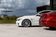 BMW 4 Series VFS1 5a5 tuning 5 190x127 20 Zoll Vossen Wheels VFS1 am BMW M4 F82 in Weiß