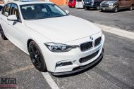 BMW F30 328d White CF Splitter Spoiler Diffuser 1 190x127 Carbon Tuning Parts am BMW 3er F30 328D