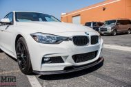 BMW F30 328d White CF Splitter Spoiler Diffuser 2 190x127 Carbon Tuning Parts am BMW 3er F30 328D