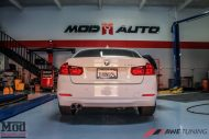 BMW F30 328i AWE Tuning Exhaust Single 2 190x127 BMW F30 328I mit AWE Sportauspuff by ModBargains