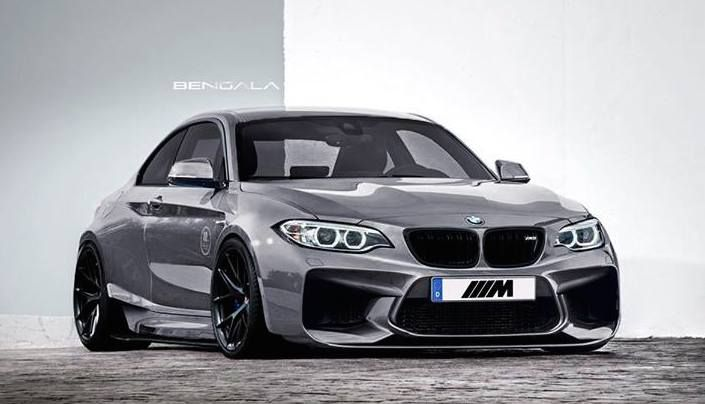 Bengala BMW M2 Wide Body 1 Rendering   BMW M2 Widebody by Bengala Automotive Design