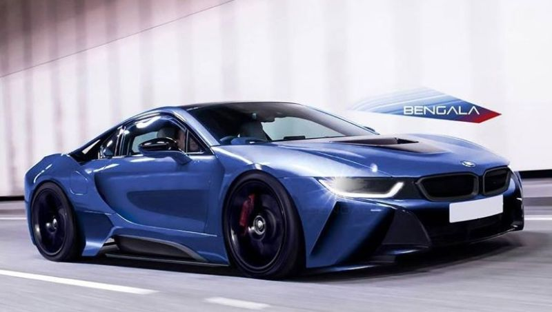 Bengala BMW i8 2 tuning 2 Rendering: Bengala Automotive Design BMW i8