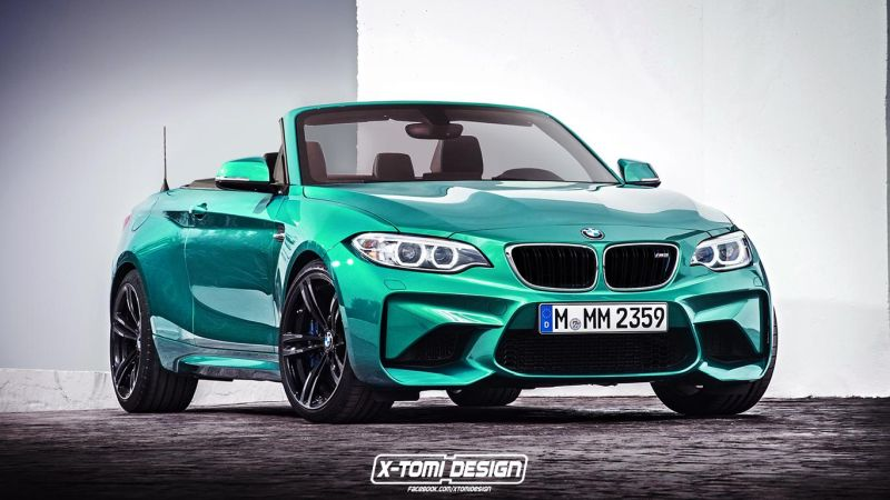 Bmw M2 Cabrio2 tuning 1 Rendering's   BMW M2 Cabrio by X Tomi Design & Theophilus Chin