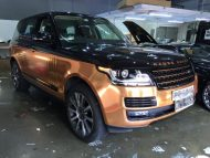 Copper Rose Range Rover tuning Folierung 3 190x143 Dezent geht anders   Copper Rose Folierung am Range Rover