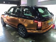 Copper Rose Range Rover tuning Folierung 6 190x143 Dezent geht anders   Copper Rose Folierung am Range Rover