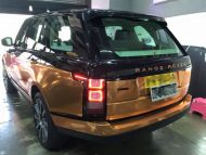 Copper Rose Range Rover tuning Folierung 7 190x143 Dezent geht anders   Copper Rose Folierung am Range Rover