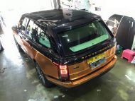 Copper Rose Range Rover tuning Folierung 8 190x143 Dezent geht anders   Copper Rose Folierung am Range Rover