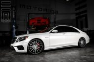 Exclusive Motoring Mercedes Benz S Class on Vossen Wheels 3 190x127 Mercedes Benz S Klasse auf 22 Zoll Vossen Wheels