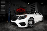 Exclusive Motoring Mercedes Benz S Class on Vossen Wheels 7 190x127 Mercedes Benz S Klasse auf 22 Zoll Vossen Wheels