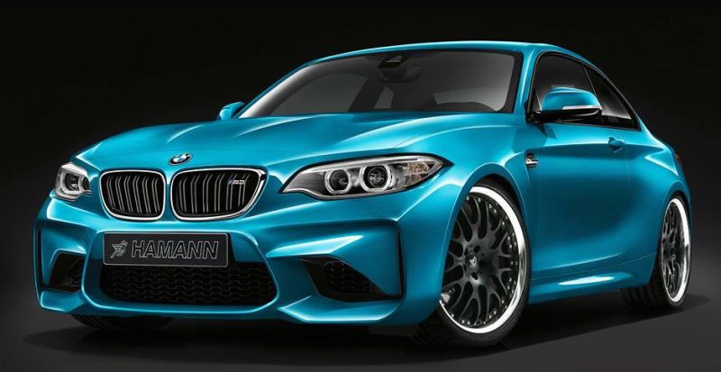 Hamann BMW M2 preview 1 Neues Projekt   BMW M2 by Hamann Motorsport in Arbeit