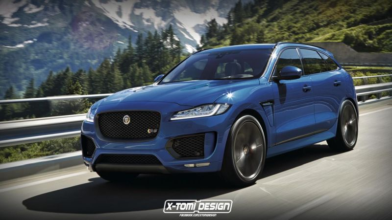 jaguar f pace rs tuning vision by x tomi design. Black Bedroom Furniture Sets. Home Design Ideas